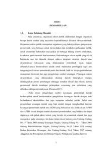 Pengaruh Peran Audit Internal Sistem Akuntansi Keuangan Daerah Dan Kompetensi Sumber Daya Manusia Terhadap Kualitas Laporan Keuangan Pemerintah Daerah Studi Empiris Pada Pemerintah Daerah Kabupaten Sumba Barat Widya Mandala Catholic University