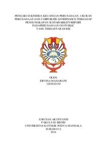Jurnal kinerja keuangan pdam pdf